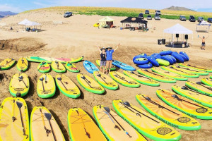 Kayak, Tube and SUP rentals for area waters
