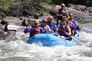 Taylor River whitewater foats |3 Rivers Resort