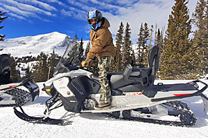 Snowmobile Rentals after Skiing