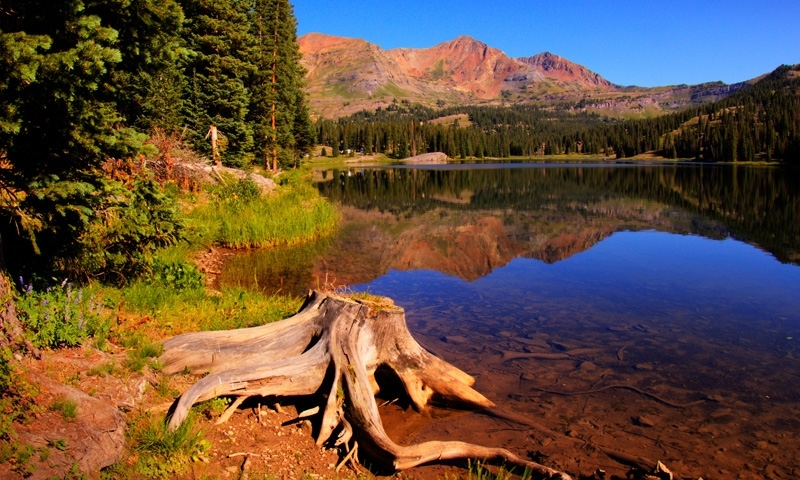 Irwin Lake in Crested Butte Colorado