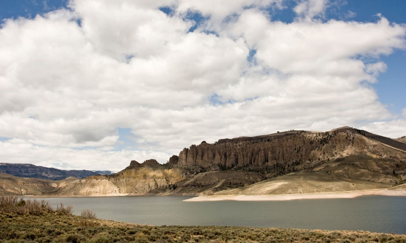 Blue Mesa Reservoir Colorado Fishing Camping Boating