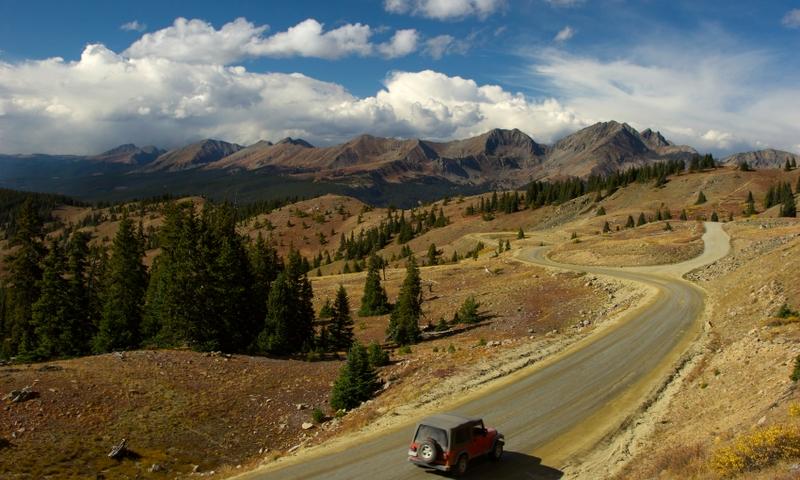 Jeep Cottonwood Pass Colorado