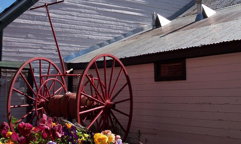 Outside the Crested Butte Museum