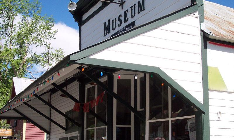 Entrance to the Crested Butte Museum