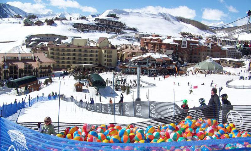 Beach Ball Express at Crested Butte Mountain