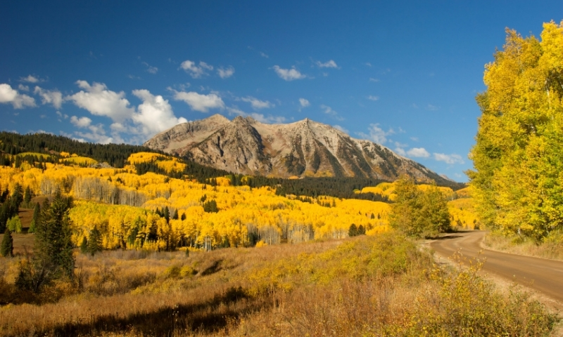 Kebler pass colorado alltrips for Cabins near crested butte co