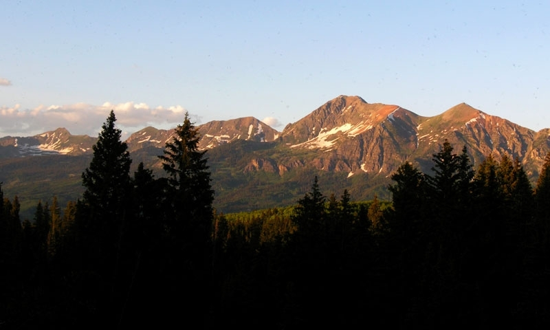 Ruby Mountain Range near Kebler Pass