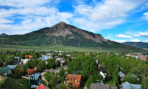 Downtown Crested Butte Colorado