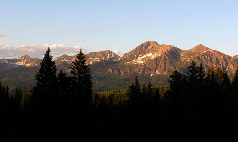 Ruby Mountain Range near Kebler Pass