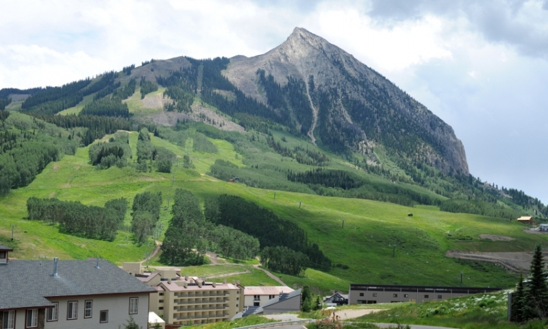 Summer at Crested Butte Ski Resort