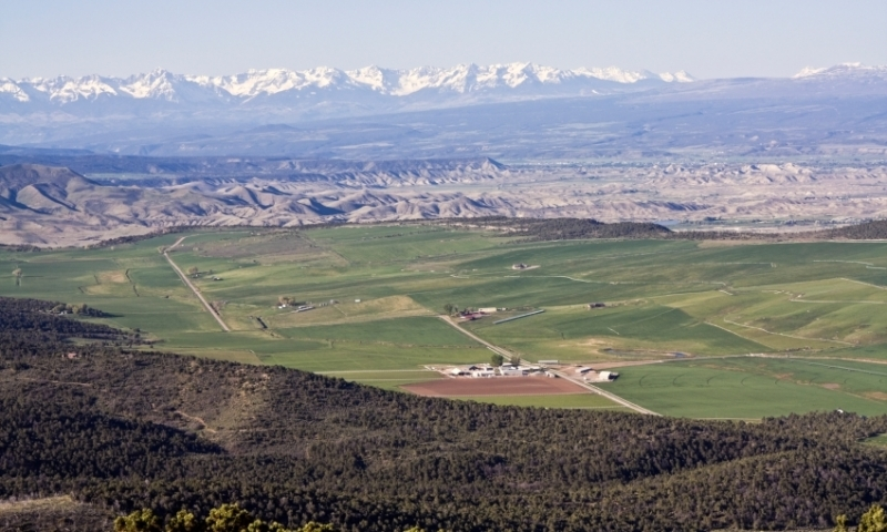 Overlooking the Gunnison and Montrose Area