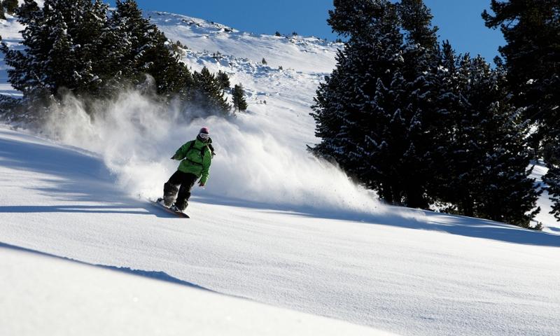 Snowboarding Skiing Backcountry