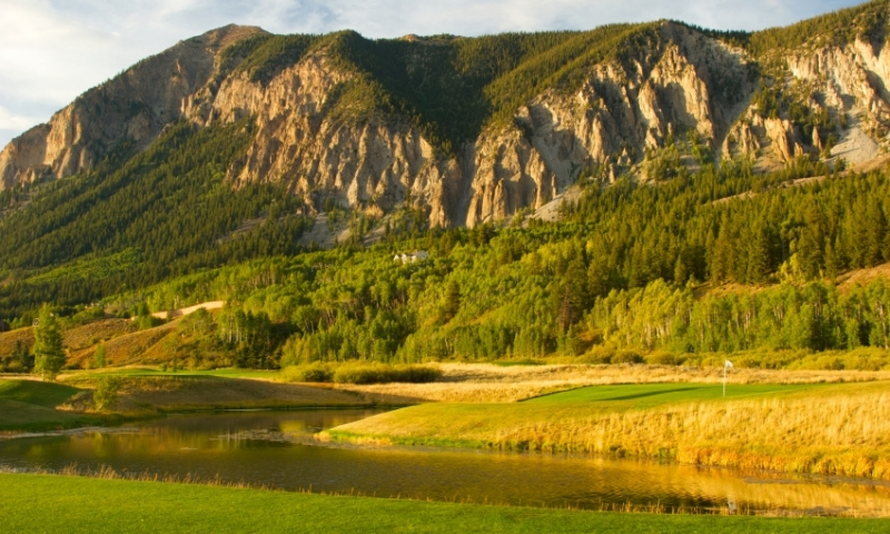Golf Course in Crested Butte