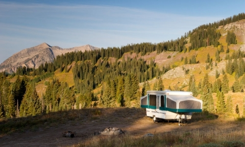 Camping near Crested Butte