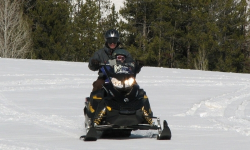 Snowmobile Crested Butte Colorado