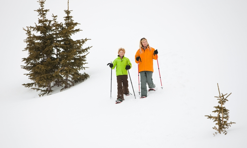 Crested Butte Colorado Snowshoeing